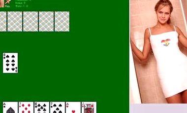 Дурак на раздевание  карточные игры на раздевание  Игры