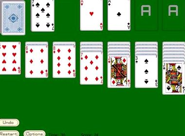 бесплатно карты легкая косынка в онлайн играть